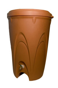 Aquascape Pond Supplies: Terra Cotta Rain Barrel | Part Number 98766 Learn more about Aquascape Pond Supplies at SunlandWaterGardens.com