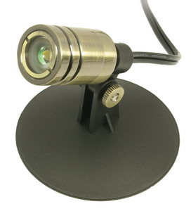 Aquascape Pond Supplies: 1-Watt 12 Volt LED Bullet Spotlight - Architectural Bronze Finish | Part Number 98926 Learn more about Aquascape Pond Supplies at SunlandWaterGardens.com