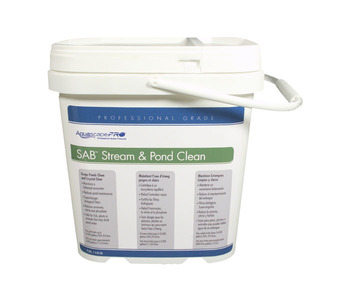 Aquascape Pond Supplies: AquascapePRO® SABT Stream & Pond Cleaner/Dry - 9 lb   Part Number 30409 Learn more about Aquascape Pond Supplies at SunlandWaterGardens.com