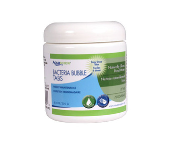 Aquascape Pond Supplies: Beneficial Bacteria Bubble Tabs - 72 count | Part Number 98930 Learn more about Aquascape Pond Supplies at SunlandWaterGardens.com