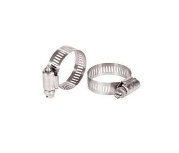 Aquascape Pond Supplies: Stainless Steel Hose Clamp (2) 1.5
