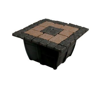 Aquascape Pond Supplies: Bubbling Formal Mosaic Fountain Kit | Part Number 58070 Learn more about Aquascape Pond Supplies at SunlandWaterGardens.com