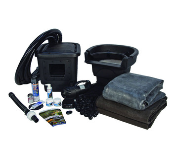 Aquascape Pond Supplies: Small 8' x 11' Pond Kit w/AquaSurge® 3000 (GYFW) | Part Number 53008 Learn more about Aquascape Pond Supplies at SunlandWaterGardens.com
