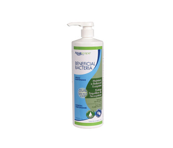 Aquascape Pond Supplies: Beneficial Bacteria for Ponds/Liquid - 1 Ltr/33.8 oz | Part Number 98888 Learn more about Aquascape Pond Supplies at SunlandWaterGardens.com