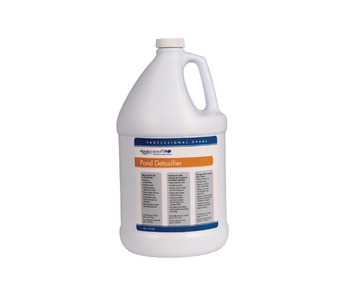 Aquascape Pond Supplies: AquascapePRO® Pond Detoxifier/Liquid - 1 gal | Part Number 30410 Learn more about Aquascape Pond Supplies at SunlandWaterGardens.com