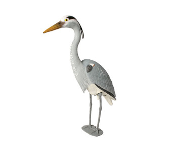 Aquascape Pond Supplies: Blue Heron Decoy | Part Number 81030 Learn more about Aquascape Pond Supplies at SunlandWaterGardens.com