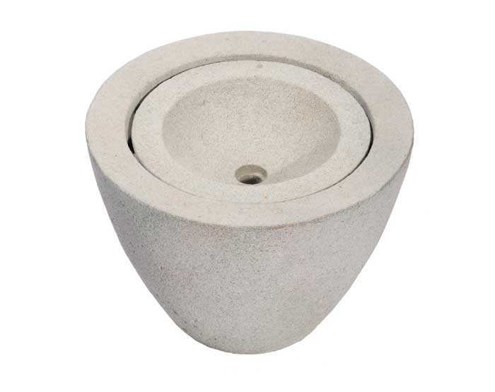 Aquascape Pond Supplies: Granite Transition Garden Fountain Small   Part Number 78028 Learn more about Aquascape Pond Supplies at SunlandWaterGardens.com