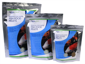 Aquascape Pond Supplies: Cold Water Fish Food Pellets 1kg | Part Number 98871 Learn more about Aquascape Pond Supplies at SunlandWaterGardens.com