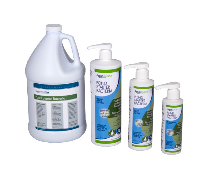 Aquascape Pond Supplies: Pond Starter Bacteria/Liquid - 1 ltr/33.8 oz | Part Number 96015 Learn more about Aquascape Pond Supplies at SunlandWaterGardens.com