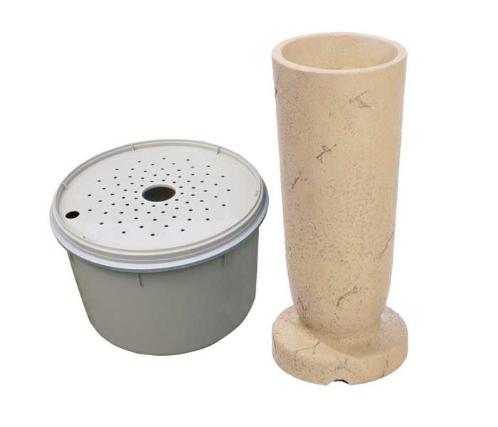 Aquascape Pond Supplies: Modern Classic Fountain Kit - XLg/Crushed Coral | Part Number 78058 Learn more about Aquascape Pond Supplies at SunlandWaterGardens.com