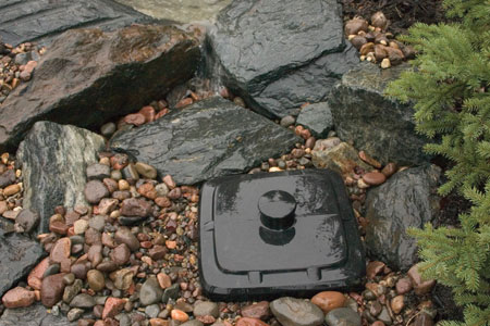Aquascape Pond Supplies: Pondless Waterfall Vault | Part Number 49000 Learn more about Aquascape Pond Supplies at SunlandWaterGardens.com